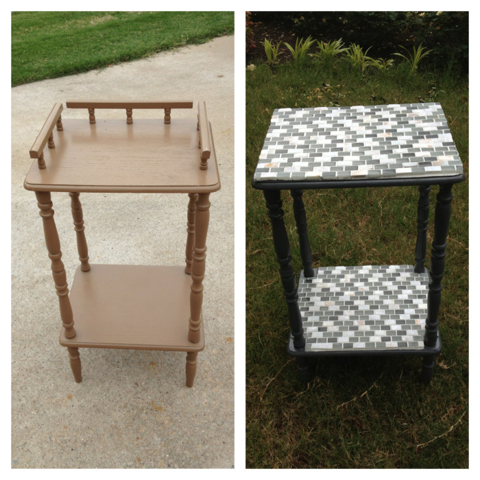 Plant Stand Makeover - Jack and Mandy: The Blog