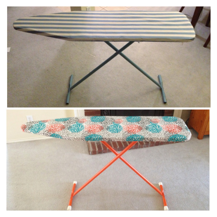 Ironing board makeover - Jack and Mandy: The Blog